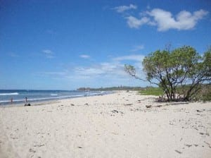 Playa Guiones at Nosara on the Nicoya Peninsula, Costa Rica