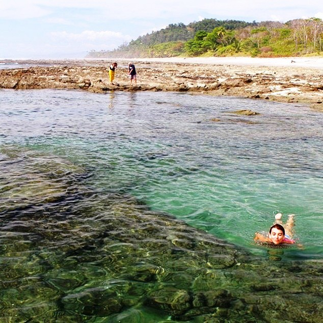 Snorkeling at Playa Santa Teresa