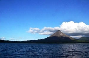 Lake Arenal and Volcano Arenal Costa Rica