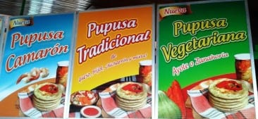 Wonderful Pupusas of El Salvador!