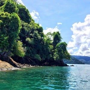 Golfo Dulce in Costa Rica