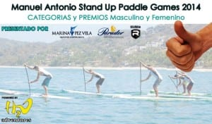 Stand up paddle games Manuel Antonio, image by H2O CR