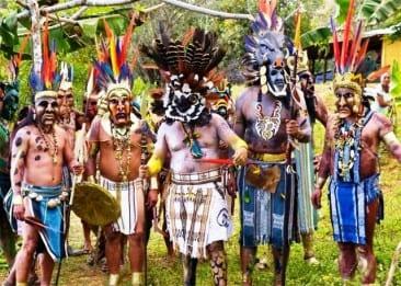 Celebrate New Year's uniquely Fiesta de los Diablitos in Costa Rica