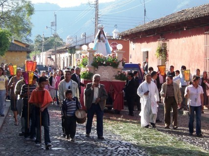 Christmas in Antigua Guatemala