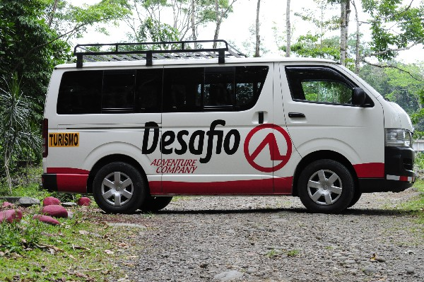 Desafio transportation in Costa Rica