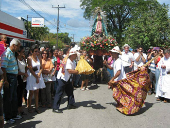 Christmas legend of La Yeguita in Nicoya, Costa Rica