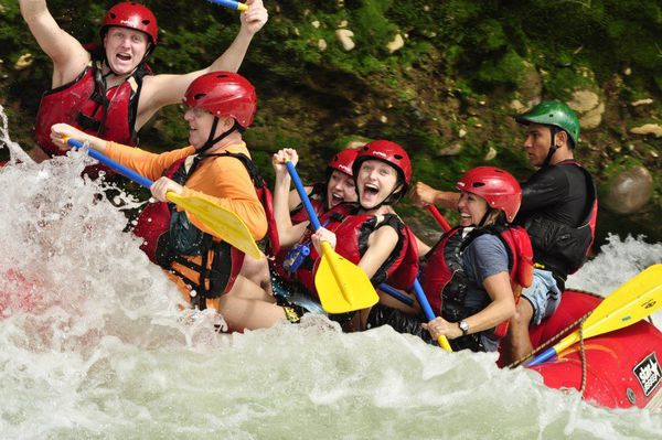 Whitewater rafting on the Sarapiqui River