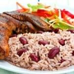 Caribbean cuisine Rice and Beans