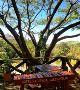 Hacienda Guachipelin marimba
