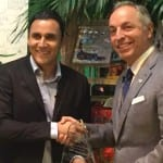 Keylor Navas and Costa Rica Tourism Minister, via Facebook