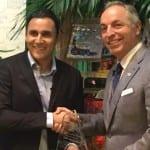 Keylor Navas and Costa Rica Tourism Minister, via Facebook