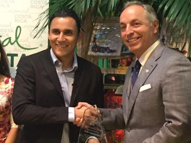 On the ball: Keylor Navas, Costa Rica's new Tourism Ambassador