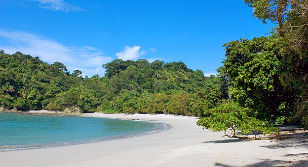 Manuel Antonio National Park beach, Costa Rica