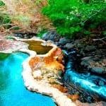 Hot volcanic springs at Hotel Hacienda Guachipelin