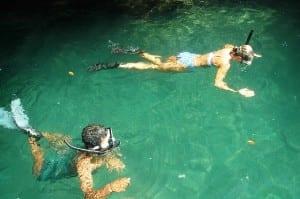 Snorkeling at Playa Nicuesa Rainforest Lodge Costa Rica
