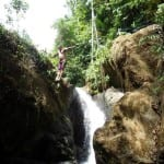 cazuela waterfall park