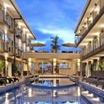 Hotel Tramonto pool, Playa Hermosa, Costa Rica