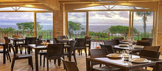 Hotel Tramonto restaurant at Playa Hermosa, Costa Rica