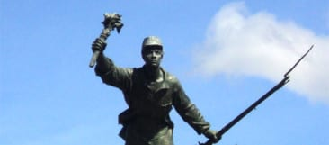 Who is Costa Rica's national hero Juan Santamaria?