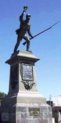 Juan Santamaria statue in Alajuela Costa Rica