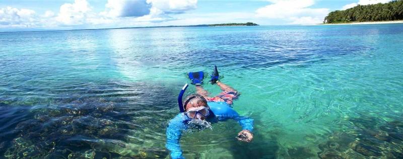 Snorkeling in Bocas del Toro, Panama