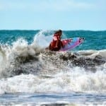 Surfer Leilani McGonagle of Costa Rica, image by FB