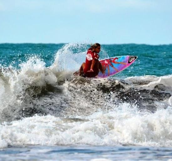 Costa Rica National Surfing Cup in Santa Teresa, April 18-19