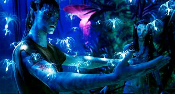 Bioluminescence in Avatar movie