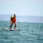 Costa Rica National SUP Team member Rolando Herrera, photo by Carlos Arias