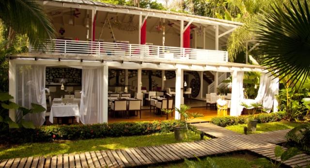 Le Numu Restaurant, Hotel Le Cameleon, Puerto Viejo, Costa Rica