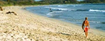Pro surfers come to top Costa Rica surfing beach Playa Guiones for June national tournament