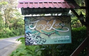 Restaurant Jungle Love Cafe, Puerto Viejo, Costa Rica