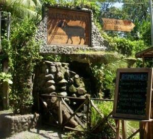 Restaurant La Pecora Nera, Puerto Viejo, Costa Rica