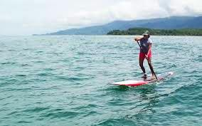 SUP racer Edith Garcia, photo by Freedom Riding SUP