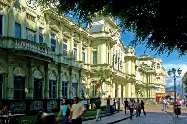 Contact Capital One >> Renovated San Jose Costa Rica is interesting city to visit.