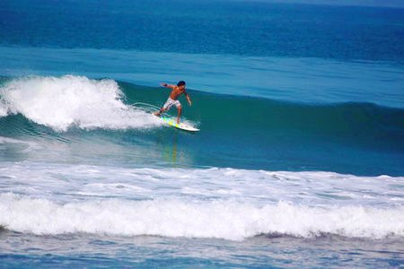 Surfing Playa Guiones, Costa Rica