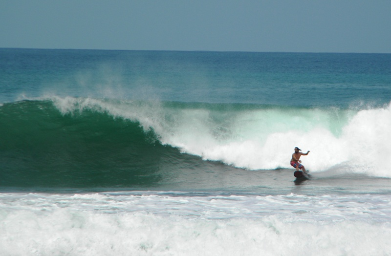 Surfing Playa Hermosa, Costa Rica