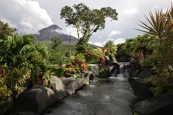 Arenal Kioro hot springs, Arenal Volcano, Costa Rica