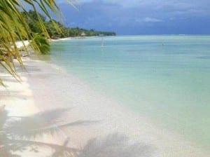 Beach in Bocas del Toro, Panama