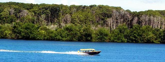 Boat taxi from Almirante to Bocas del Toro Panama