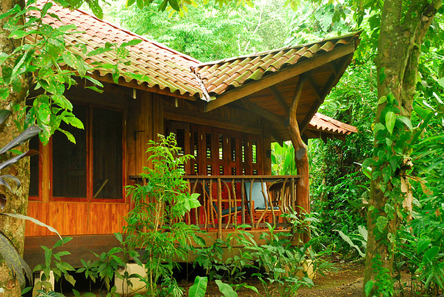Playa Nicuesa Rainforest Lodge bungalow