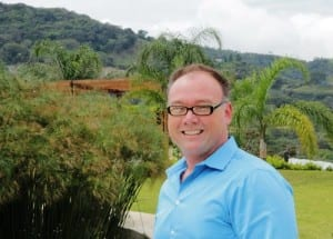 Atenas Costa Rica realtor Dennis Easters with Pure Life Development