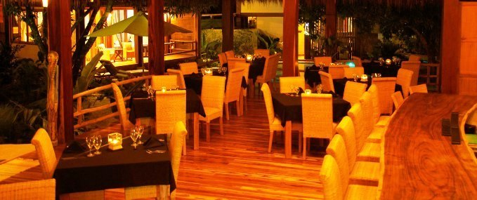 Budda Eyes Restaurant at Pranamar Villas