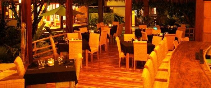 Budda Eyes Restaurant at Pranamar Villas