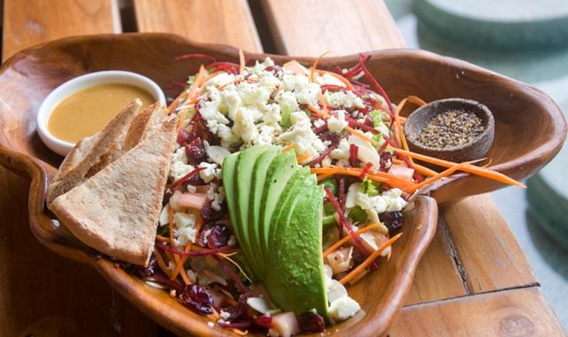 Buddha Eyes Restaurant salad