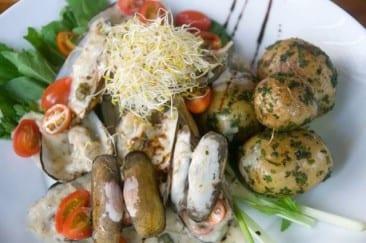 Santa Teresa Costa Rica restaurant masters fresh, novel cuisine