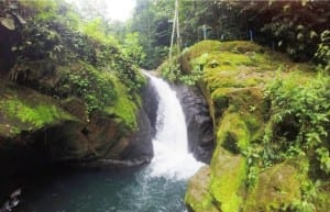 Cazuela Waterfall at Portasol Livingin Costa Rica