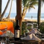 Hotel Tropico Latino restaurant at Santa Teresa Costa Rica