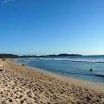 Playa Guiones beach in Nosara, Costa Rica