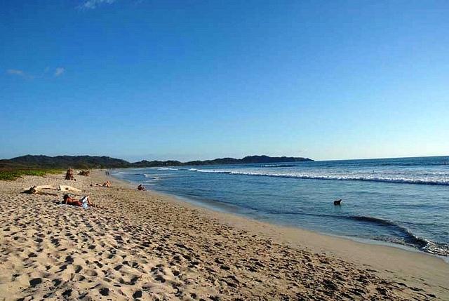 Playa Guiones Beach In Nosara Costa Rica